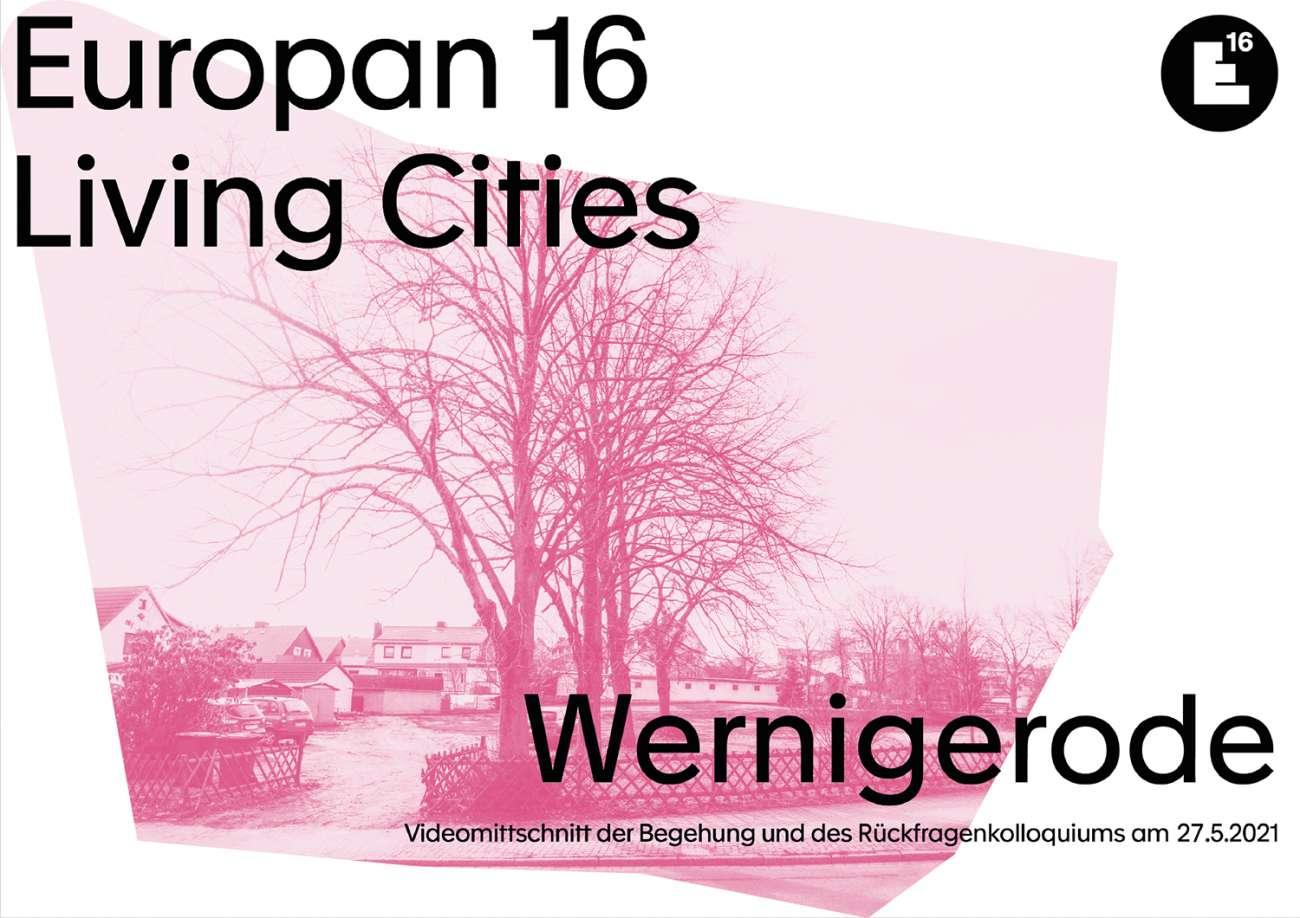 Wernigerode: Begehung & Rückfragenkolloquium