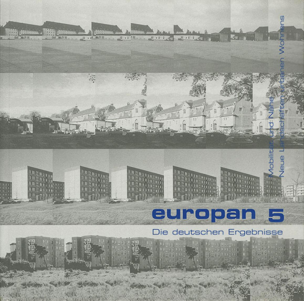 Europan 5<br /> Mobilität und Nähe / Neue Landschaften urbanen Wohnens